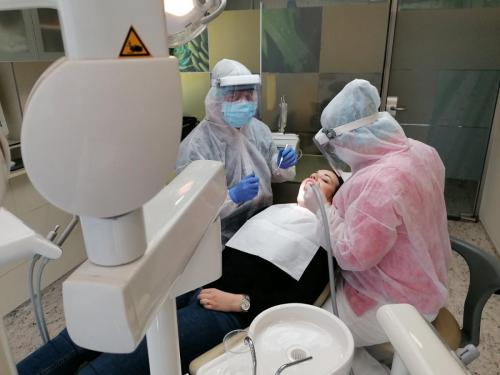 Full PPE is worn during every appointment 2