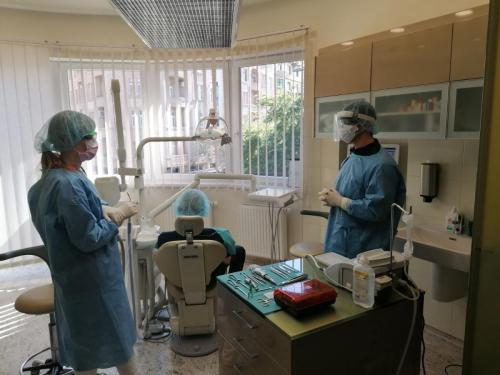 Full PPE is worn during every appointment 3